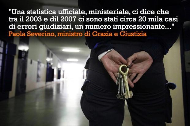 Riparazione per ingiusta detenzione : un diritto fondamentale.